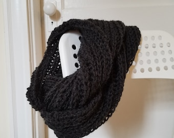 Agrarian Infinity Scarf in Charcoal