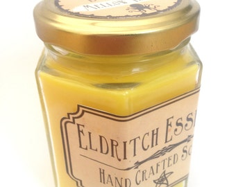 Eldritch Essences Hex Jar Scented Candle *Mellow Yellow*