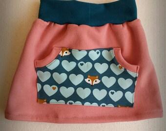 Rock girl skirt 104