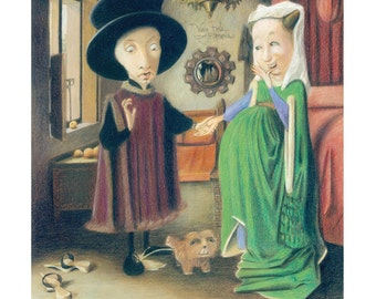 The divorce of the Arnolfini