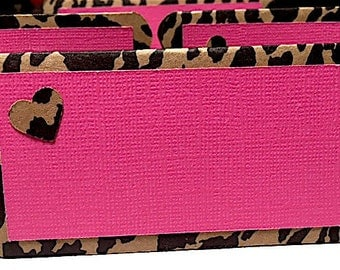 Leopard and Pink Food Place Cards, Leopard Baby Shower, Leopard and Pink Party, Leopard and Pink birthday, Leopard and Hot Pink Decorations