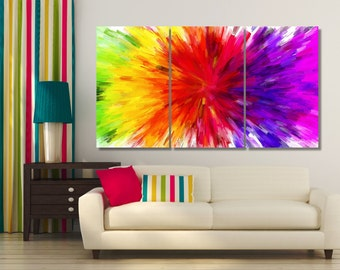 Abstractionism Wall Art, Extra Large Wall Art, Large Abstraction Art, Colorful Abstractionism Art,  Large Abstract Decor, Nursery Decoration