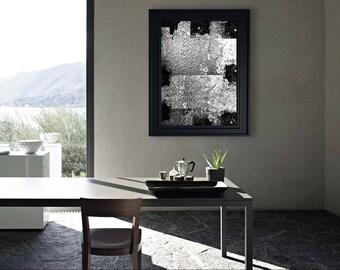 ABSTRACT ART - Digital Art Download - Arte Astratta - Black and white - Wall Art - Digital Art - Printable Poster