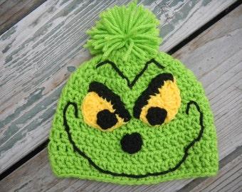 Baby Grinch Beanie