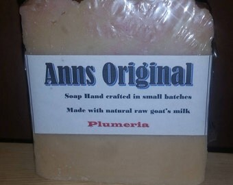 Ann's Original Goat Milk Soap - Plumeria