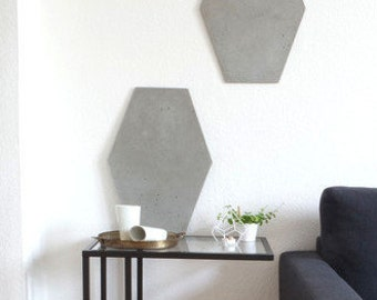 Concrete mural 'ANGULAR'