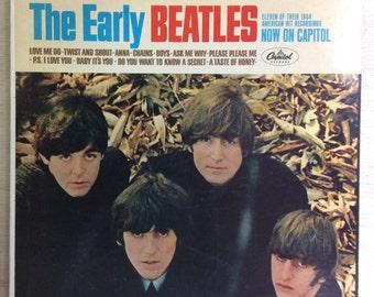 Rock LP The Early Beatles Vintage Capitol Records Vinyl McCartney Lennon Starr Harrison