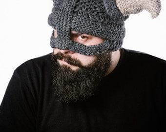 Viking Knitted Helmet