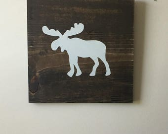 Moose Wall Decor moose wall decor | etsy