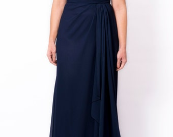 Evening gown/Formal wear/Prom dress/bridesmaid gown