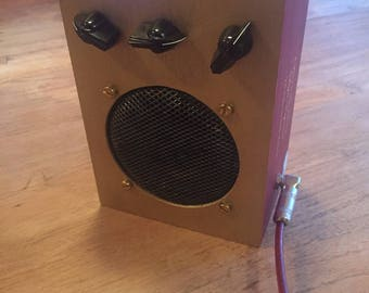 Battery powered CBG amp