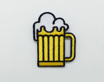 Beer - iron on patch