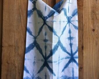Indigo Dyed Dishtowel