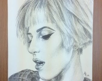 Hayley Williams Graphite Drawing