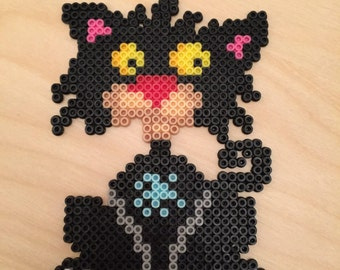 Bad Kitty Magnets - Birthday Gifts for Guests - Perler Beads Art