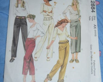 McCalls 4088 Misses Shorts and Pants Sewing Pattern - UNCUT - Size 8 10 12 14