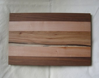 Wooden Western Maple & Walnut Cheese Board