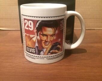 Elvis Presley ceramic mug in box
