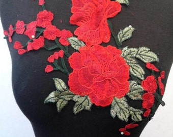Sew-On Flower Patch Applique #7C1593