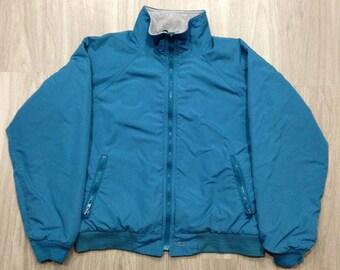 Woolrich Vintage Shelled Fleece Jacket - Men's/Unisex Size Medium