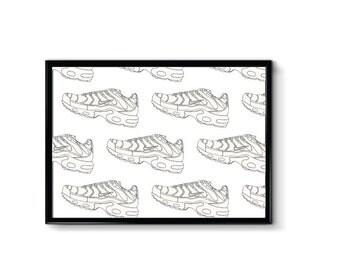 Nike Air Max Plus - TNs - a4 - Print