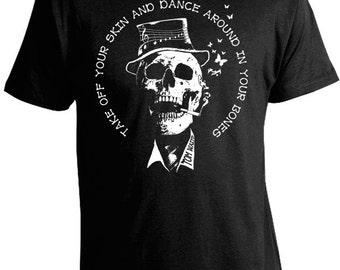 Tom Waits T-Shirt - Dance Around in Your Bones - Tom Waits Tees