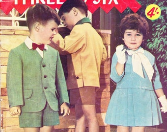 Enid Gilchrist  Ages 3 to 6 Clothes Vintage Patterns Drafting Book Sewing Patterns Girls Pattern Boys Patterns Toddler Dress