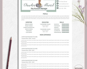 career resume two page resume resume template resume download editable resume - Two Page Resume