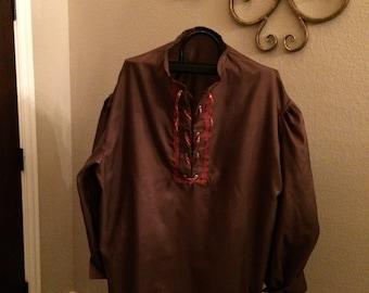 Brown Renaissance Custom Shirt