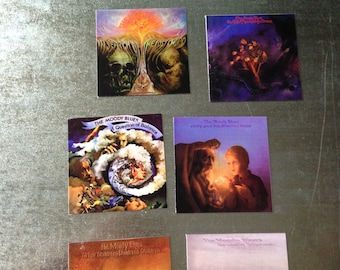 Moody Blues Classic core seven MAGNETS collectible music gift PROGRESIVE psych vinyl