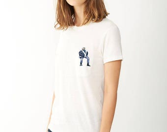 Drake - Pocket Tee - Drake Shirt - OVO T Shirt - Drake Shirts - OVO - OVO Clothing - Drake Tshirt - Drake Views - Drake T Shirt - Revenge
