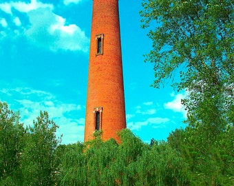 Currituck Lighthouse Outerbanks North Carolina - Canvas Gallery Wrap