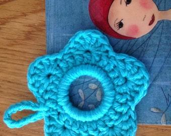 Mini crocheted framework