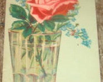 Nice Piece Of Victorian Scrap (Rose)
