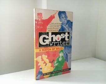 Ghostwriter : A Match of Wills by Eric Weiner - 1992 Paperback Book