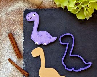 Dinosaur Cookie Cutter - Diplodocus