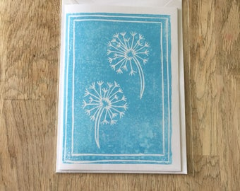 Dandelion Clocks A6 Gift Card