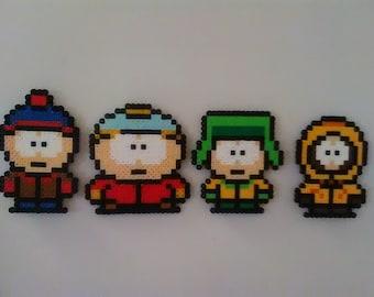 South Park Perler Beads