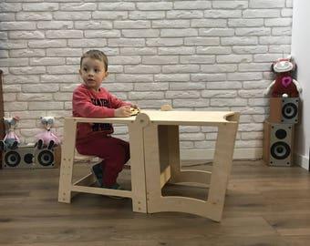 Little Helper Tower, Giraffe Helper, Toddler Step Stool, Kitchen Helper,  Montessori Learning