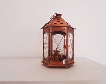 lanterne rustique etsy. Black Bedroom Furniture Sets. Home Design Ideas