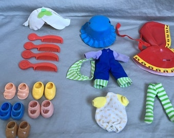Vintage Strawberry Shortcake Clothes & Shoes *Sold Separately*