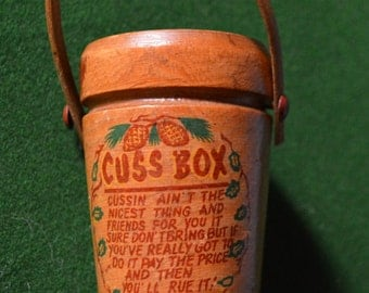 Vintage cuss box