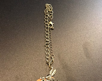 Alice in Wonderland Single Pendant Bracelet