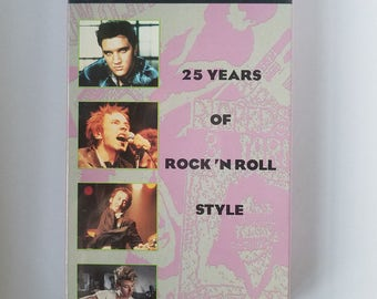 Cool Cats: 25 Years of Rock N Roll Style - Rare & Factory Sealed VHS - Music / Musical