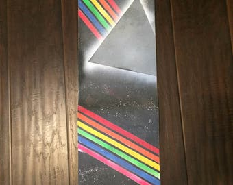 Pink Floyd Dark Side of the Moon skateboard grip tape
