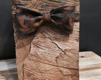 Bowtie bow tie fabric vintage.