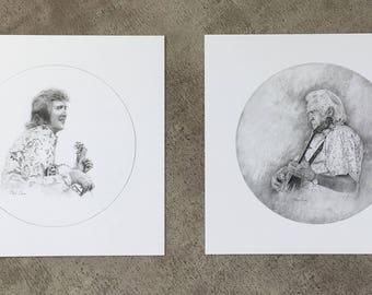 J. D. Crowe Print Set
