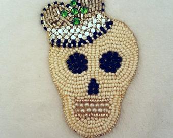 """Brooch """"Royal skull"""""""