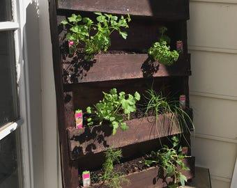 Indoor wall garden Etsy