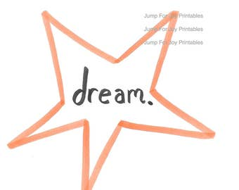 Dream Star Printable Art